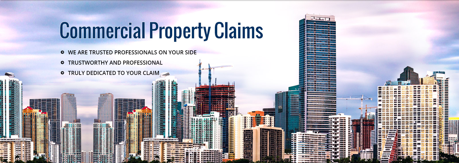 Commercial Property Claims