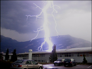 lightning insurance claim